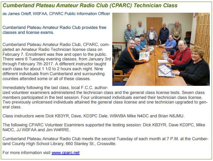 plateau amateur radio assocation